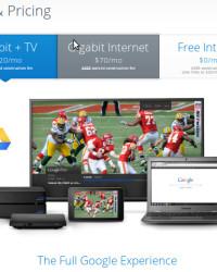 Google Fiber Plans and Pricing:  Gigabit+TV  & Gigabit Internet