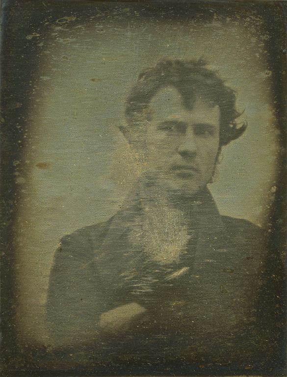 Robert Cornelius Worlds First Selfie 1839