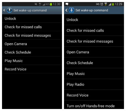 How to Set Galaxy S5 Voice Command / Wake-Up Functions