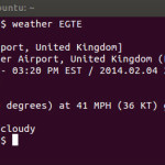 How to Get Weather Conditions and Forecats in Linux Terminal