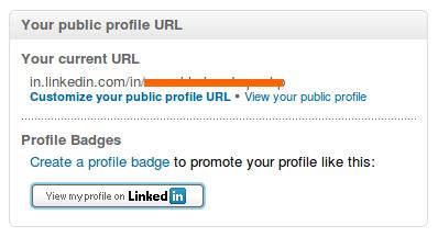 how to create a linkedin profile url