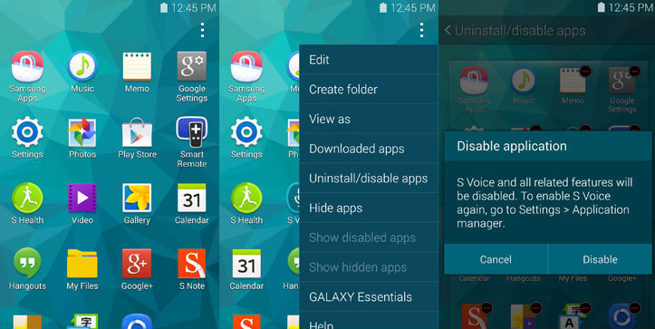 How to Disable or Uninstall Bloatware on Samsung Galaxy S5
