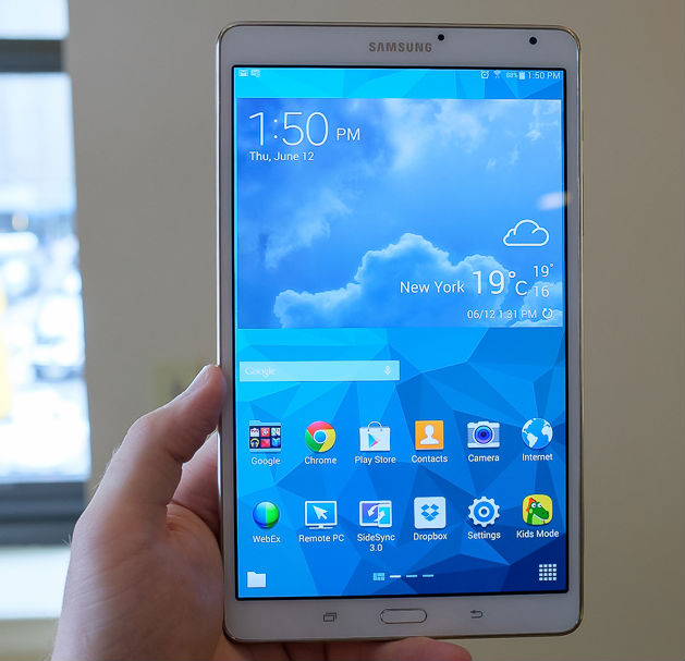 Full feature comparison samsung galaxy tab s versus apple for Samsung galaxy s tablet