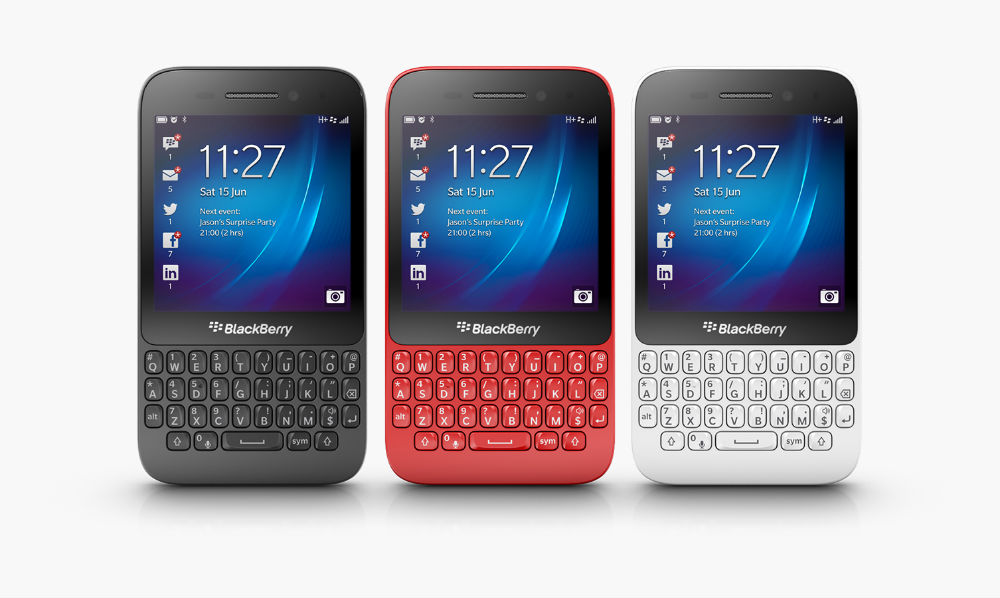 answer blackberry phones q5 price in india might