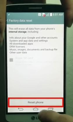 Hard Reset LG G3-image 5