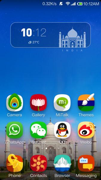 Download Xiaomi MIUI India-Specific Theme via MIUI Theme Store