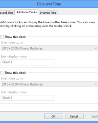 How to Add Multiple Time Zones (Clock) in Windows OS?