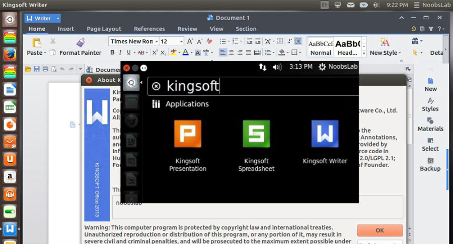 How to Install Kingsoft (WPS) Office on Ubuntu 14 04/Linux Mint and