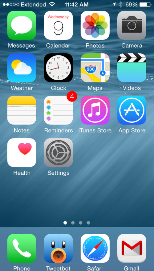 How To Change Your Android Screen Into Ios 8 Screen