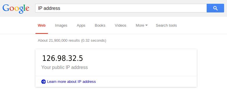 find ip address windows 10