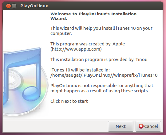 Install iTunes on Ubuntu-02