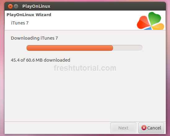 Install iTunes on Ubuntu -03