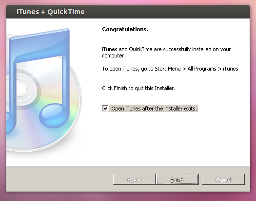 Install iTunes on Ubuntu -06