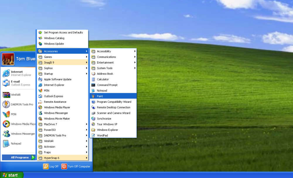 Download Windows XP Bliss Wallpaper