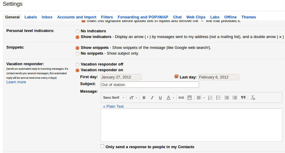 How to Set Up an Out-of-Office Vacation Auto-Reply in Gmail