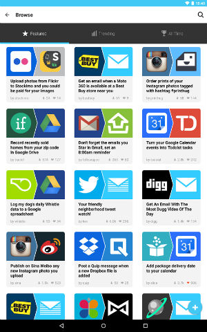 IFTTT-Android-App