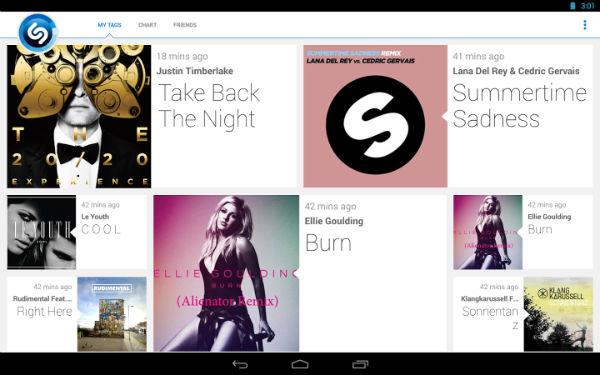 Shazam-Android-App