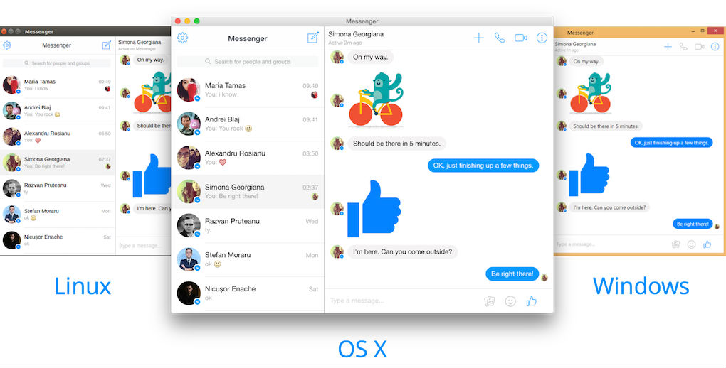 facebook messenger for windows 7 64 bit