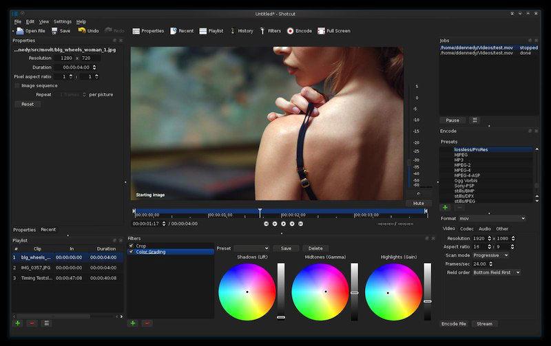 Install Shotcut Video Editor On Ubuntu via Snap