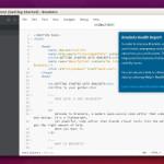 Install Brackets 1.11 Code Editor On Linux Ubuntu
