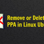 How To Remove or Delete PPA in Linux Ubuntu