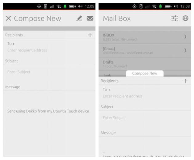 Install Dekko Ubuntu Touch Email Client On Ubuntu Desktops