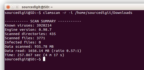 Scan Linux Ubuntu For Viruses With ClamAV Virus Scanner