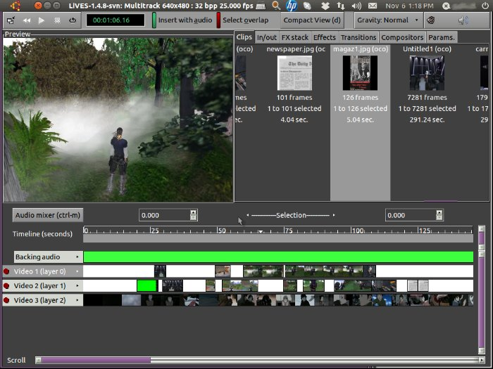 How To Install Lives Video Editor On Ubuntu Via Ppa