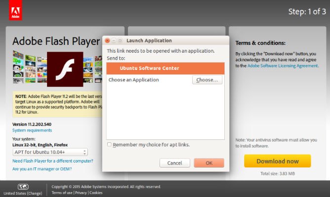 Quelques liens utiles Install adobe flash