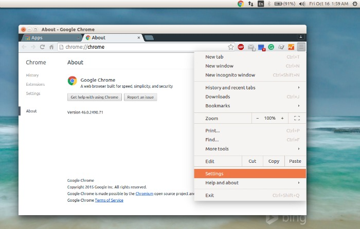 install chrome in ubuntu 14.04