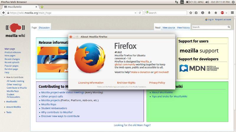 How to update firefox in ubuntu using terminal