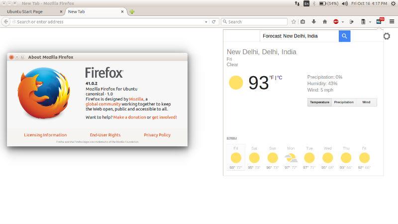 Install Latest Version of Firefox (41 0 2) On Ubuntu 15 04