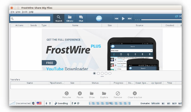 Install FrostWire Bittorrent Client On Ubuntu 15 04 & Ubuntu