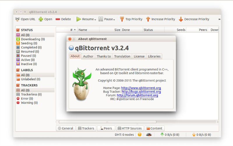 Install qBittorrent 3 3 4 Torrent Client On Ubuntu Systems