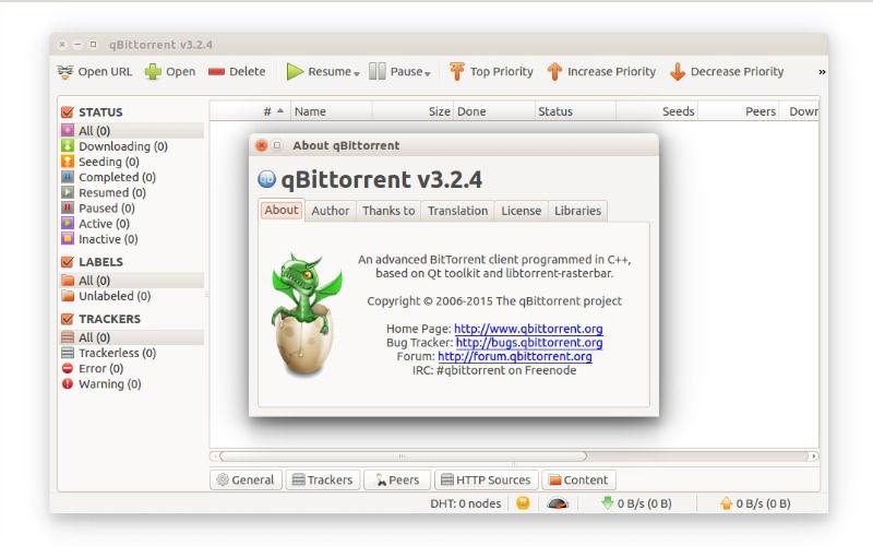 qbittorrent download priority
