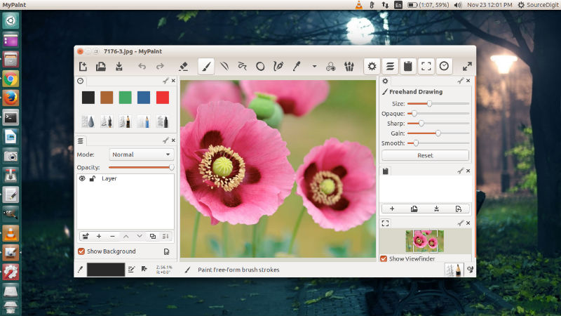 Install mypaint ms paint for linux ubuntu Paint for linux