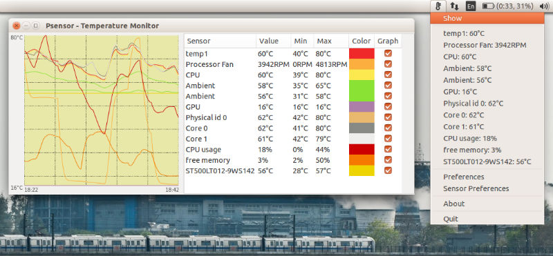 How To Check Laptop CPU Temperature In Ubuntu Systems