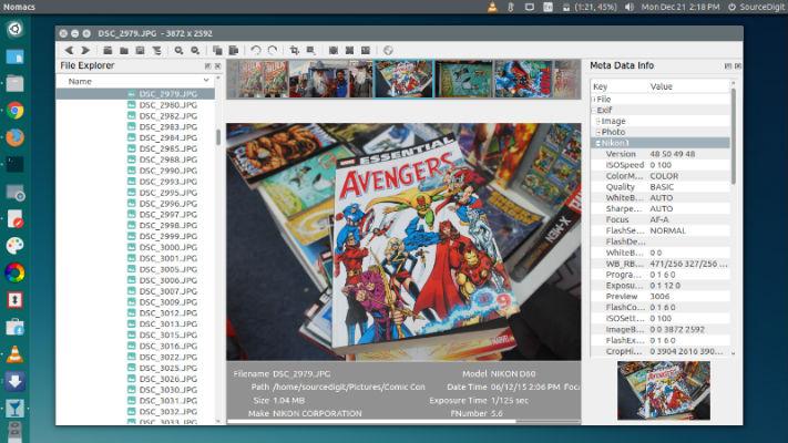 Install Nomacs Image Viewer On Linux Ubuntu Systems