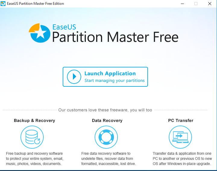 easeus partition master 8.0.1 home edition download