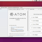How To Install Atom Text Editor 1.21 On Ubuntu 17.10