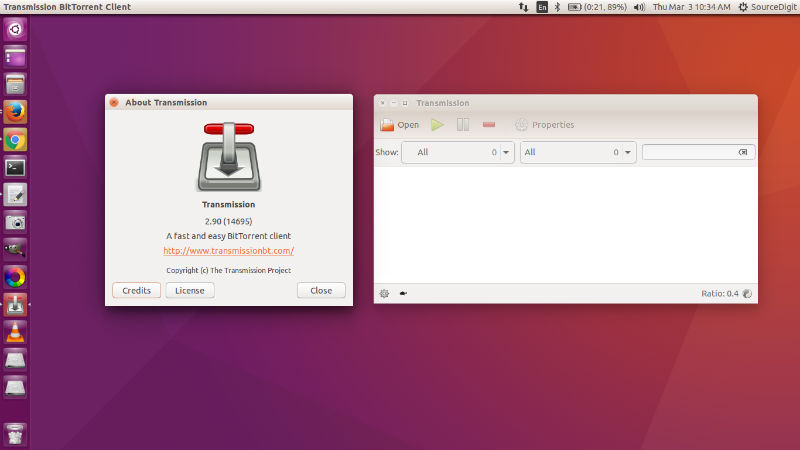How To Install Transmission 2 90 Bittorrent Client On Ubuntu