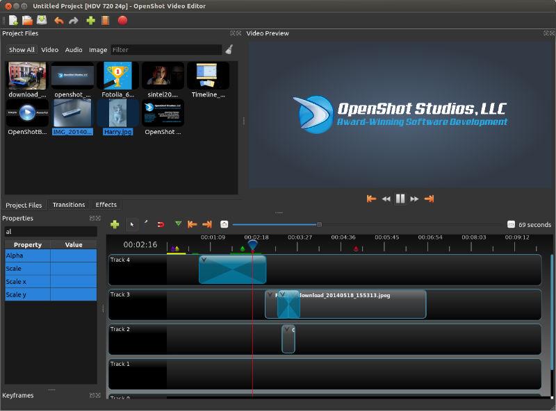 a7daa52d30 Install OpenShot 2.0.7 Video Editor On Ubuntu Systems