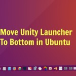 How To Move Unity Launcher To Bottom On Ubuntu 16.04 Desktop