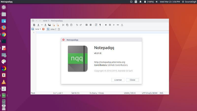 notepad-ubuntu