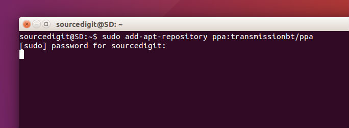 how to install transmission 2 90 bittorrent client on ubuntu systems