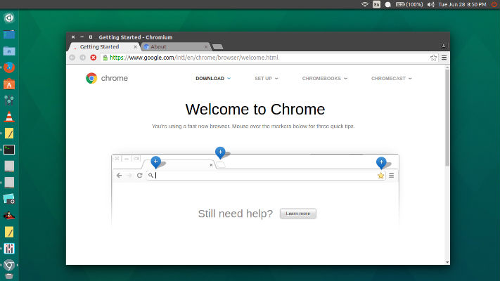 Install Chromium (Google Chrome Open Source) Browser In Ubuntu 16 04