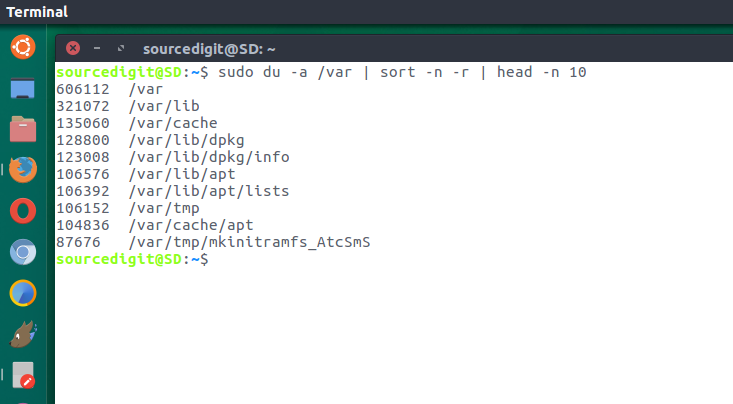 Terminal Commands To Find The Largest Files and Directories in