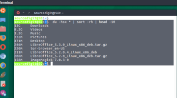 Terminal Commands To Find The Largest Files and Directories in Ubuntu Systems