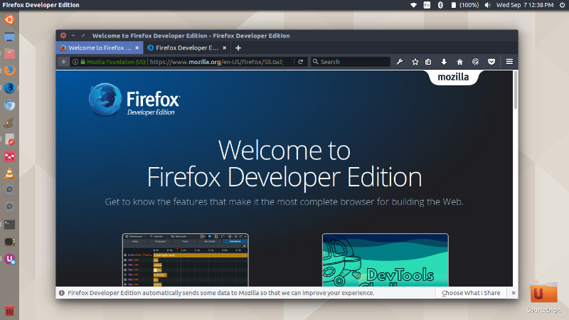 How To Install Firefox Developer Edition On Ubuntu 16 04