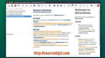 Install QOwnNotes On Ubuntu Linux